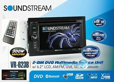 "SOUNDSTREAM VR-623B 6.2"" BLUETOOTH CD DVD MP3 USB TOUCHSCREEN CAR STEREO PLAYER"