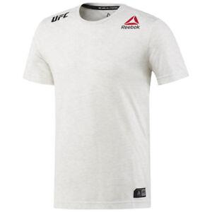online retailer e9102 e0521 Details about Reebok DM5165 Men Training UFC FK Blank Jersey SS shirts white