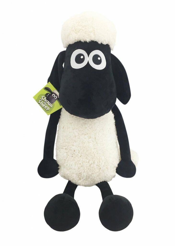 Shaun The Sheep Plush Toy Genuine by Aardman 33  83cm Large SH354004