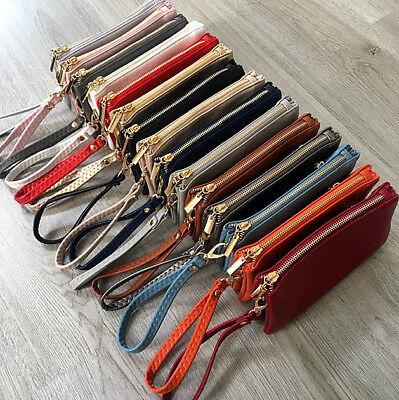 Brioso Donna Piccolo Plain Multi Tasca Cross Corpo Clutch Bag Messenger Borsa Borsetta Da Sposa-mostra Il Titolo Originale