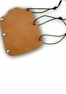TRADITIONAL ARCHERY LEATHER ARM GUARD AG205 BROWN