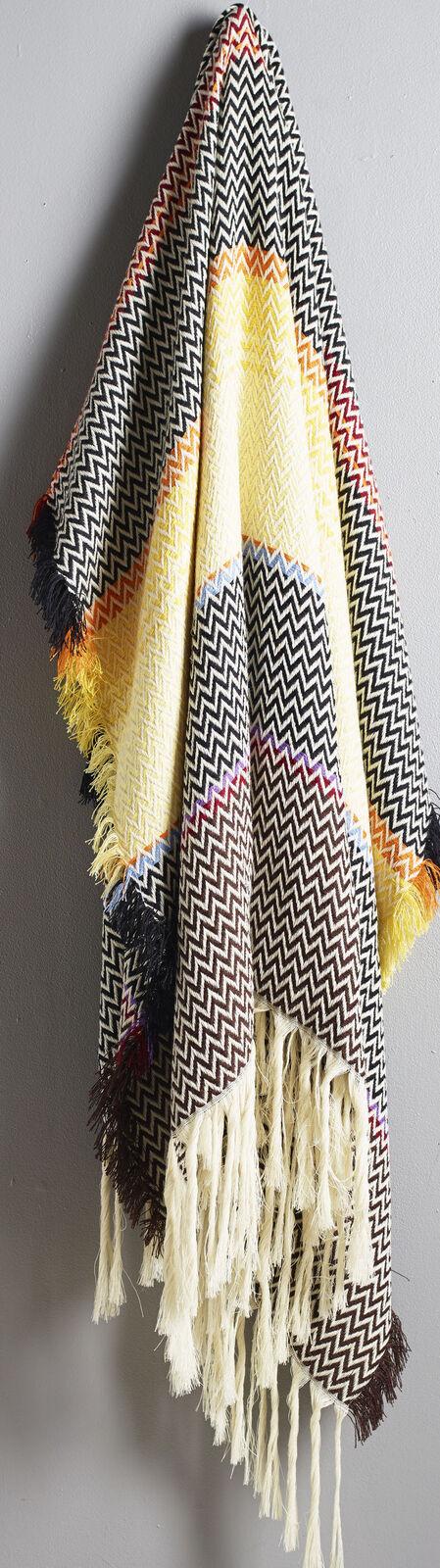 NEW   FRAM OSLO Norwegian 100% New Wool Multicolor BELTESTAKK  Bunad Blanket