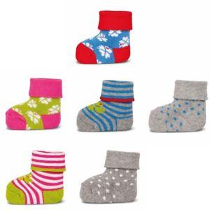ewers-3er-Set-Baby-Socken-Erstlingssoeckchen-Graziela-Kleeblatt