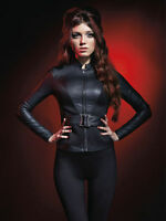 Marvel By Her Universe BLACK WIDOW JACKET Avengers  Size X-Large Sold Out NWTS