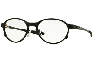 7bcfd0f2c19 Oakley Overlord Men Eyeglasses Round OX5067-02 51 Satin Black   Demo ...