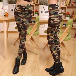 Fashion-Women-039-s-Sexy-Skinny-Print-Pants-Stretch-Jeggings-Legging-Camouflage
