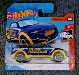 Mattel-Hot-Wheels-2-Tuff-Nuevo-Sellado