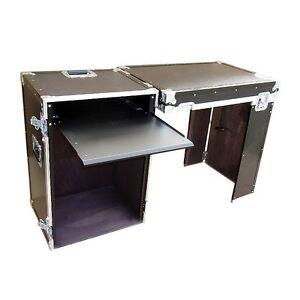 rack workstation case 16 space rack w pullout shelf. Black Bedroom Furniture Sets. Home Design Ideas