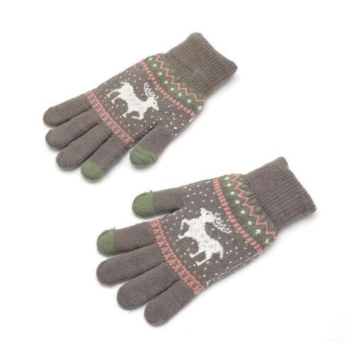 Winterhandschuhe für Bildschirm-warmes Telefon-simsender Finger