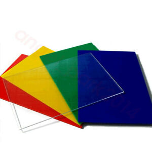 Color You Pick The Thickness Lucite Cast Acrylic Plastic Sheet and Size