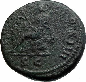 ANTONINUS-PIUS-Ancient-Roman-Coin-154AD-Rome-Britain-VICTORY-vs-BRITANNIA-i80415