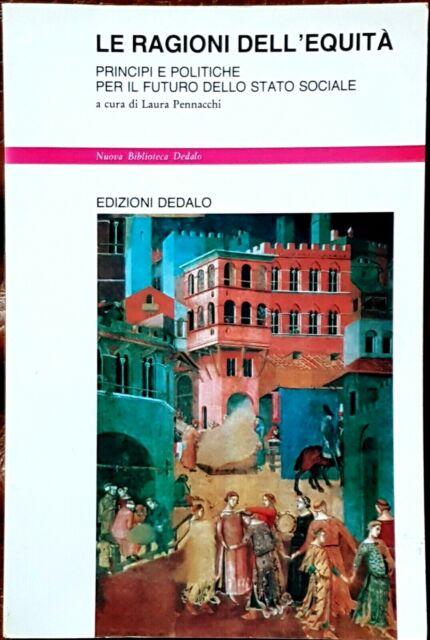 Laura Pennacchi (a cura di), Le ragioni dell'equità, Ed. Dedalo, 1994