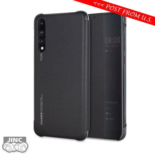 a basso prezzo 9b851 7c1eb Genuine Huawei P20 Pro Smart View Flip Cover Case Wallet Sleep Wake - Black