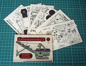 1950s-Vintage-Original-Micromodels-T02-Mammoth-Shovel-Excavator-First-Edition
