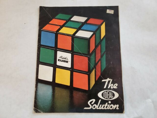 Rubik's Cube, The Ideal Solution booklet, 1980 Ideal Toy Corporation