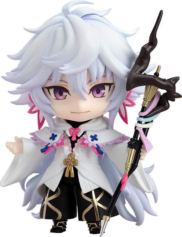 Nendoroid Fate Grand orden Caster Merlin figura de acción con seguimiento Nuevo