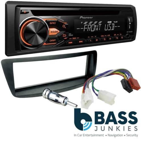 For A Toyota AYGO 05-14 Pioneer CD MP3 USB Aux Car Radio /& Fascia Fitting Kit