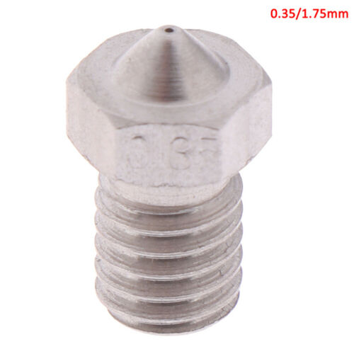 High quality stainless steel nozzles for V5 V6 3D printing parEC