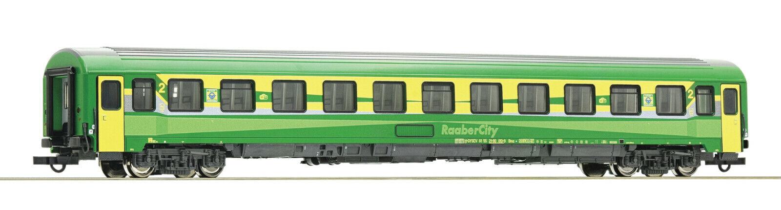 Roco h0 74335-Eurofima-coche 2. clase, GySEV mercancía nueva