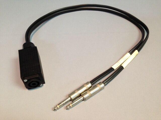 Tarea Audio Speakon A 1 4 Macho Macho Macho Adaptador parche Parlante Amplificador Cable  compras online de deportes