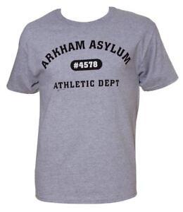 DC-Arkham-Asylum-Athletic-Dept-Mens-Grey-T-Shirt