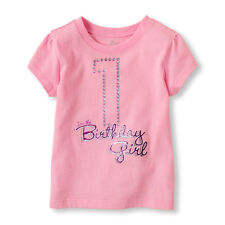 ~NEW~ 1st 2nd 3rd 4th BIRTHDAY Girls Shirts 12-18 Months 2T 3T 4T 5T PARTY Gift!