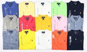 bbae69f2c Image is loading Polo-Ralph-Lauren-Boys-Cotton-Mesh-Polo-Shirt-