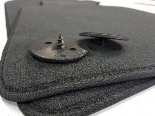 Fußmatten BMW 5er G30 //// G31 Original Qualität Velours 2 Klett Auto-Teppiche