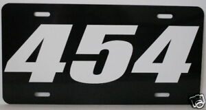454-ENGINE-SIZE-LICENSE-PLATE-FITS-CHEVELLE-SS-CHEVY-BB