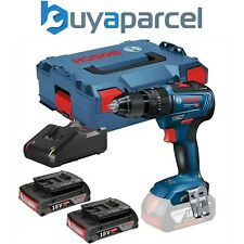 Bosch 18v GSB 18V-55 Brushless Combi Hammer Drill - 2 x 2.0ah Batteries