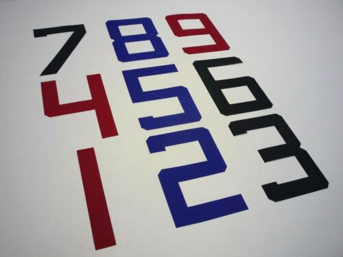 sticky sailcloth Sail Numbers 0-9 /& Letters A-Z 375mm upto 36ft//11m sailboat