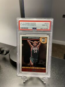 2013 NBA Hoops - Giannis Antetokounmpo - Rookie RC -#275 - PSA 10 - Gem Mint