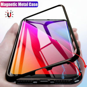Pour-Samsung-Galaxy-S9-S8-Note-9-Magnetique-Absorption-Etui-Telephone-Meta