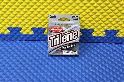 BERKLEY TRILENE MICRO ICE CLEAR STEEL LINE 3lb. 110yd #MIPS3-66