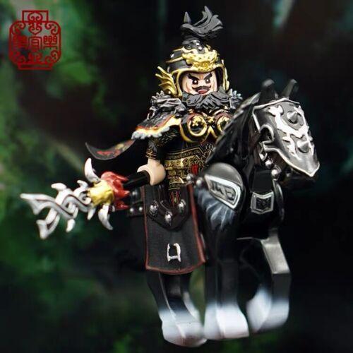 **LAB9MINIFIGS** ⎡LEYILE BRICK⎦ Pre-order Custom Zhang Fei Lego Minifigure Set