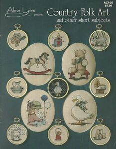 Alma-Lynne-Designs-Country-Folk-Art-Counted-Cross-Stitch-Patterns