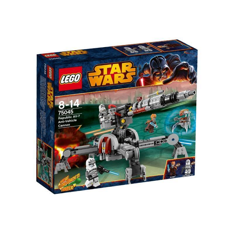 LEGO Star Wars Republic AV-7 anti-Cannone del veicolo  75045