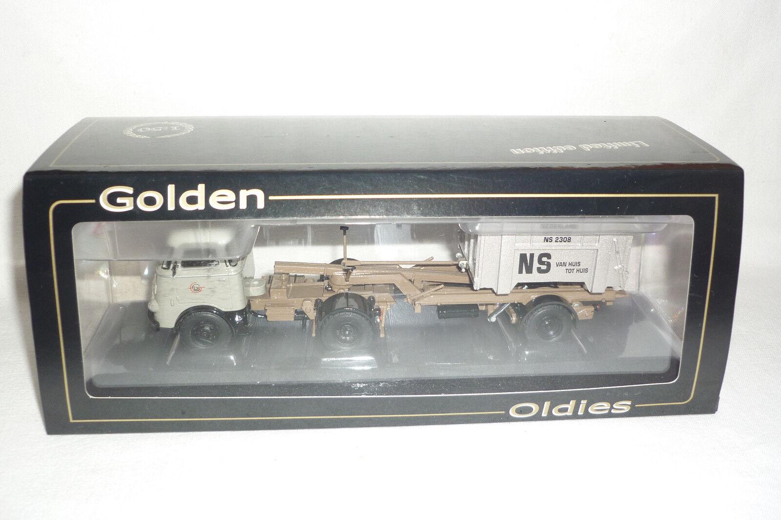 Gmts Bevro  modellolo  D'oro Oldiese DAF Autoarticolato Conf. Orig. 1 50