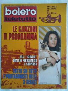 Bolero-1401-Fabio-Testi-Lino-Capolicchio-Sanremo-Falk-Melato-Farinon-Zanetti