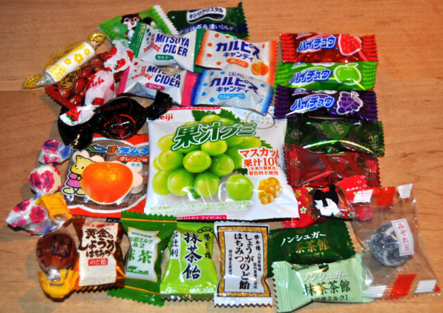 Japanese Hard Candy, Gummy, Hi-Chew, Ramune Assort Set 27 flavors per each one!