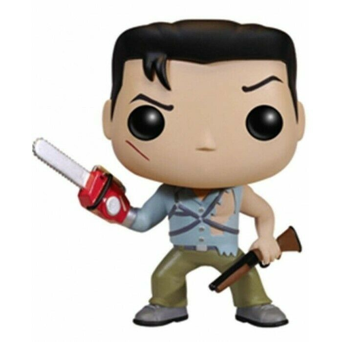 FUNKO POP MOVIES EVIL DEAD ARMY OF DARKNESS ASH THE HERO VINYL FIGURE NEW