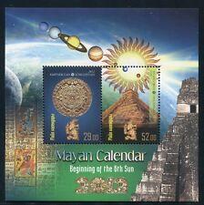 KIRGISIEN KYRGYZSTAN 2012 Maya-Kalender Mayan Calendar Astronomie Block ** MNH