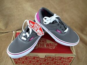 d6a8ecae03 Image is loading NEW-VANS-ERA-HEEL-POP-SHOE-PEWTER-FUCHSIA-