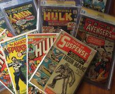 Invincible Grab Bag lot, Tales of Suspense 39 45 48, Captain America, Iron Man 1