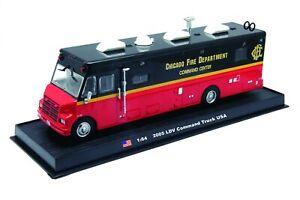 LDV-Command-Truck-2005-Fire-Truck-Diecast-1-64-model-Amercom-GB-13