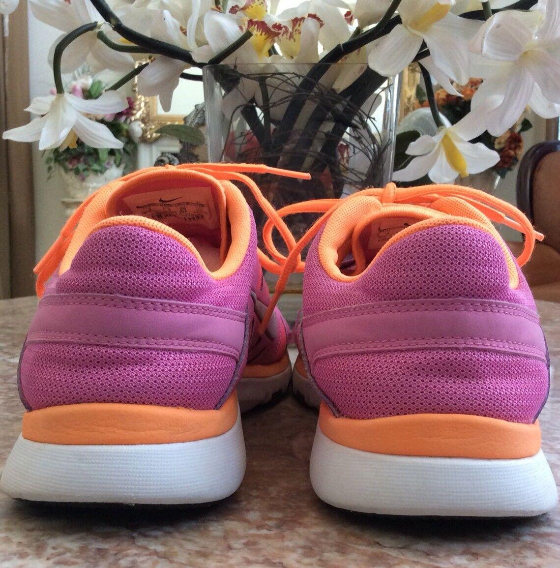 Nike Flex Supreme TR 2 Women's Pink Pink Pink Glow Orange Running Shoes Size 8 d408c3
