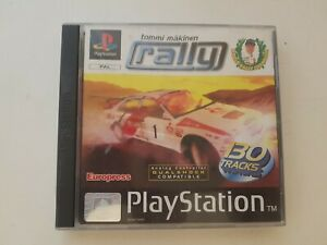 Tommi-Makinen-Rally-Sony-PlayStation-1-PS1-PAL-European-Complete