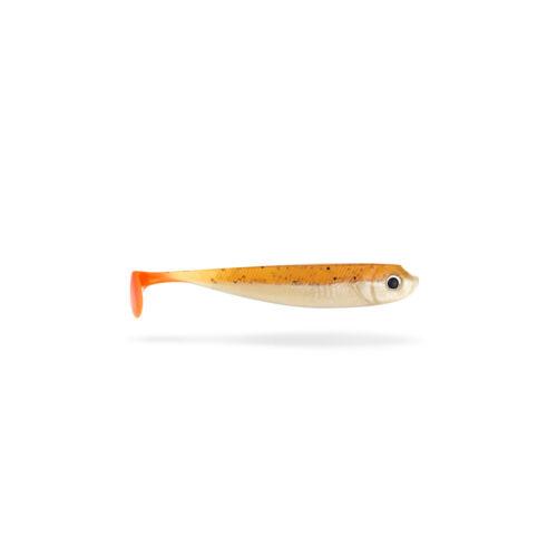 10 cm Lieblingsköder Gummifisch Stint  Zander Shad  Kauli montiert mit Jig