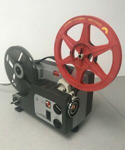 Sankyo Dualux 1000 SUPER 8 8MM VARIABLE SPEED  CINE PROJECTOR Fully serviced