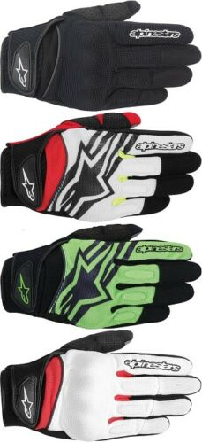 Alpinestars Spartan Textile Street Motorcycle Gloves All Sizes All Colors
